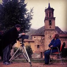 Imanol Gordo retratando a Cristina García Rodero en daguerrotipo con una Crow Graphic.
